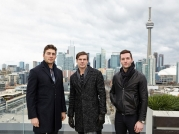 Joffrey Lupul, David Clarkson & Jonathan Bernier of the Toronto Maple Leafs rock John Varvatos!