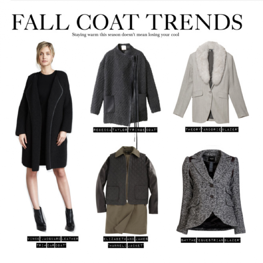 Fall 2012 Women's Coat Trends