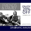 DIPLOMATIC IMMUNITY FRIENDS & FAMILY EVENT