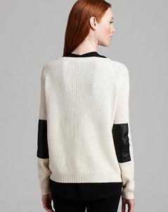 vince elbow patch sweater back
