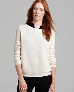 vince elbow patch sweater front
